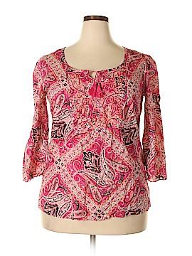 Style&Co 3/4 Sleeve Blouse Size 16