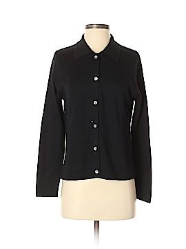 Norm Thompson Silk Cardigan Size S