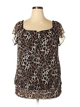 Judith Short Sleeve Blouse Size 2X (Plus)