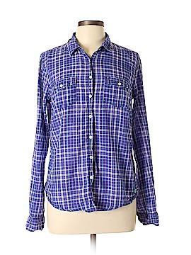 Aeropostale Long Sleeve Button-Down Shirt Size XL