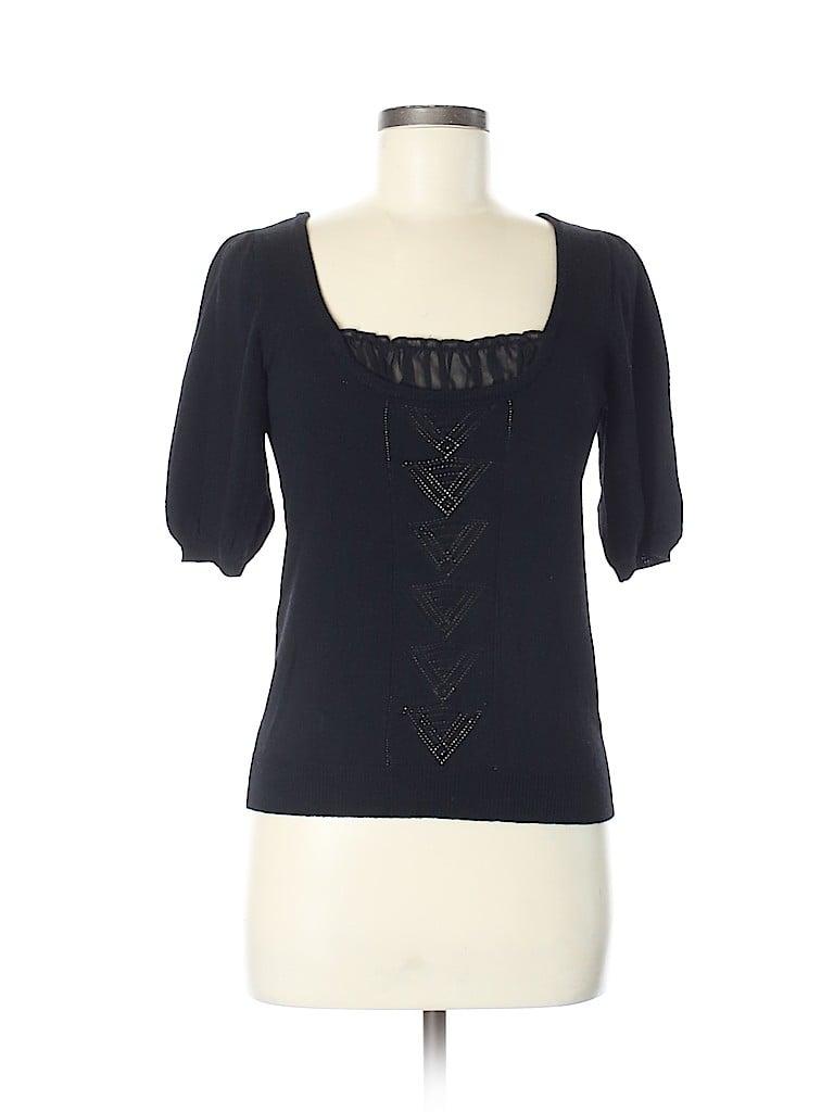 Nanette Lepore Women Wool Pullover Sweater Size M