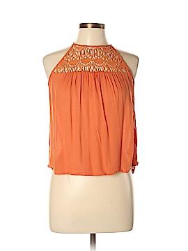 Ganjana Paris Sleeveless Blouse Size M