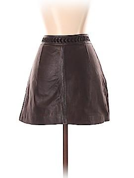 Trafaluc by Zara Leather Skirt Size S
