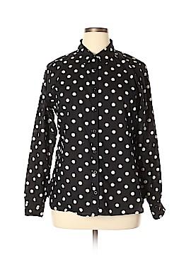 DownEast Basics Long Sleeve Button-Down Shirt Size XL