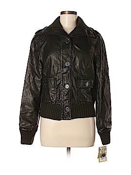 SONOMA life + style Faux Leather Jacket Size M
