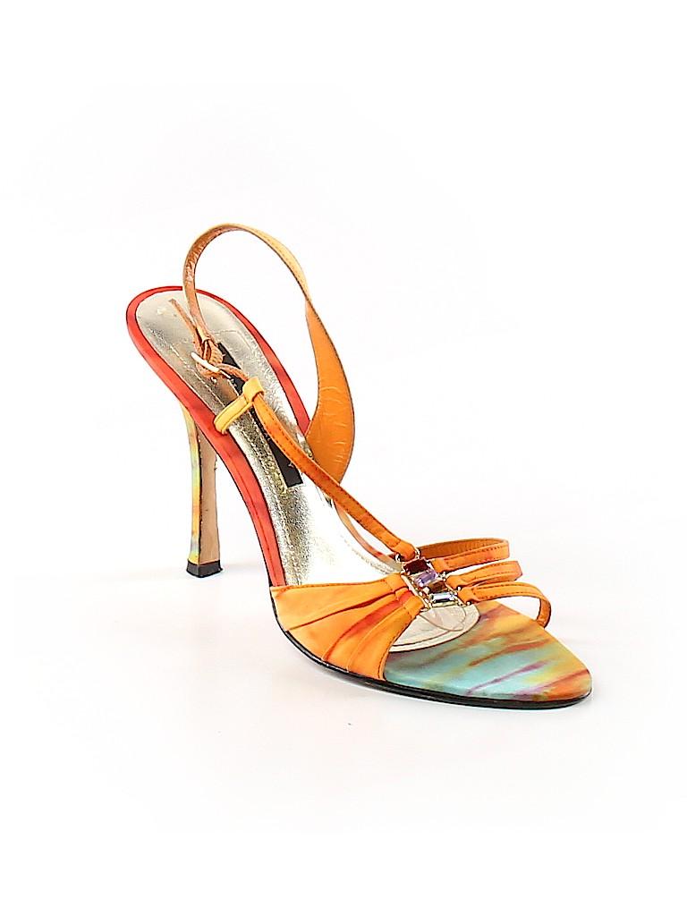 e4c02a98928 Laundry by Shelli Segal Print Orange Heels Size 8 1 2 - 82% off ...