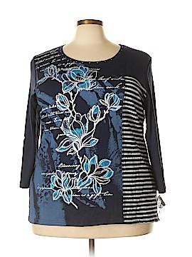 Karen Scott Sport 3/4 Sleeve Top Size 3X (Plus)