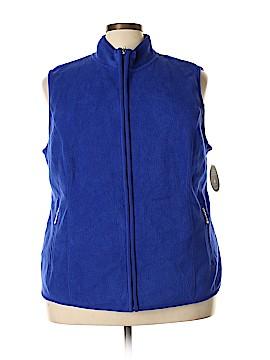 Karen Scott Sport Fleece Size 2X (Plus)
