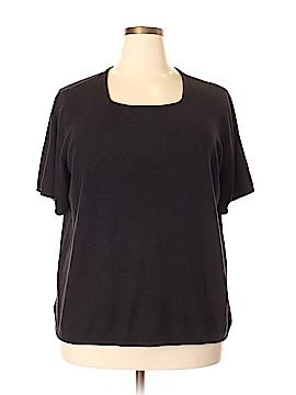 Kathie Lee Short Sleeve Top Size 22 (Plus)