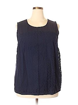 Calvin Klein Sleeveless Blouse Size 2X (Plus)