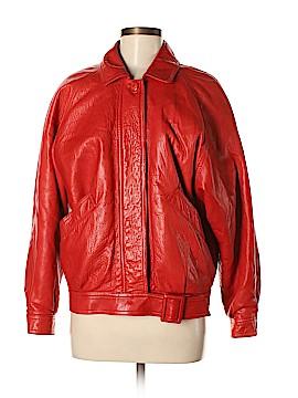 Saks Fifth Avenue Leather Jacket Size 6
