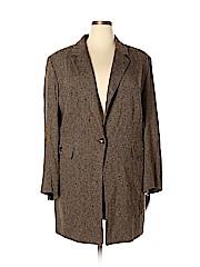 Dana Buchman Women Wool Coat Size 24 (Plus)