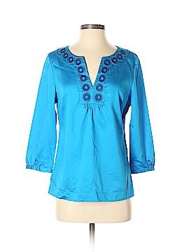 Ann Taylor 3/4 Sleeve Blouse Size 4