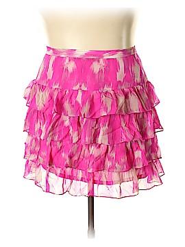 INC International Concepts Silk Skirt Size 16