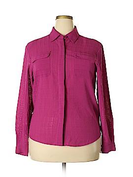 Joanna Long Sleeve Blouse Size 1X (Plus)