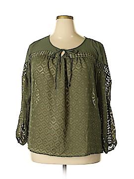 Kate & Mallory designs Long Sleeve Blouse Size 1X (Plus)