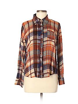 Full Tilt Long Sleeve Button-Down Shirt Size L