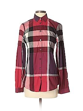 Burberry Long Sleeve Button-Down Shirt Size XS