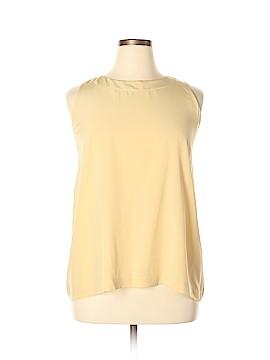 Eskandar Sleeveless Silk Top Size 8 (1)