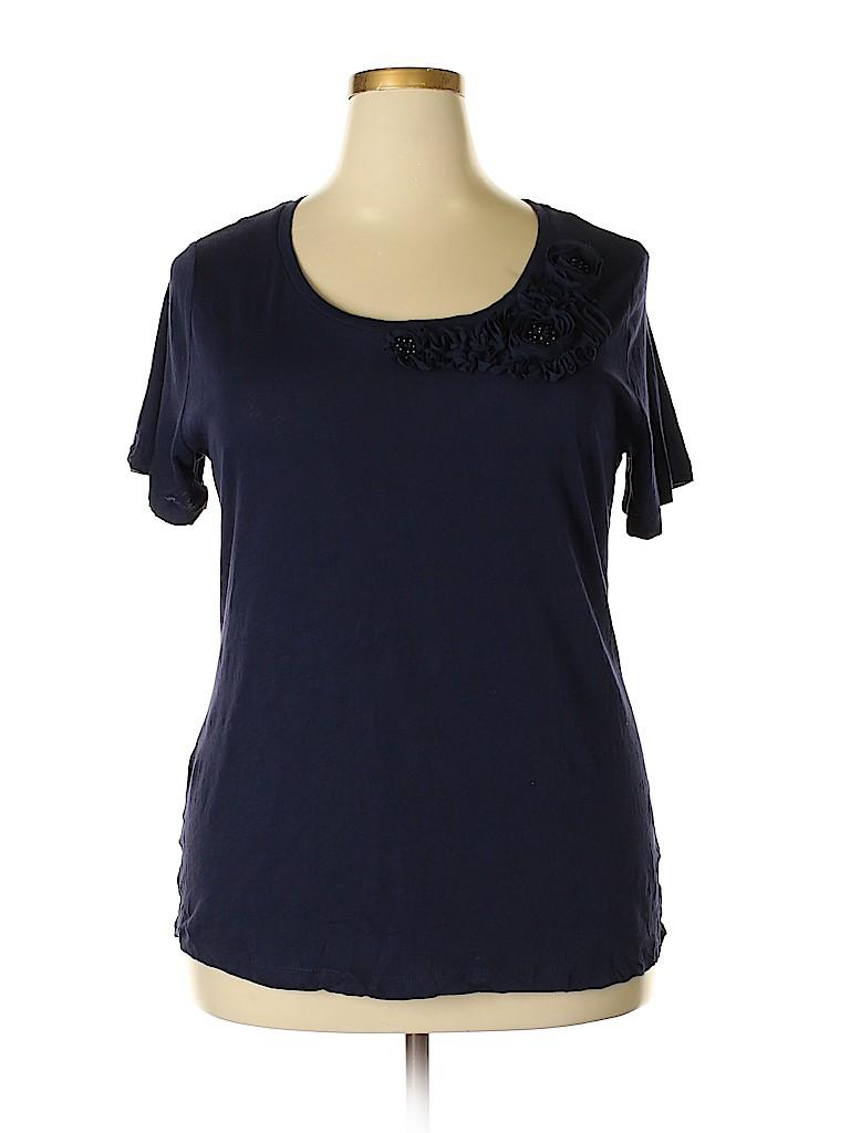 Merona Women Short Sleeve Top Size 1