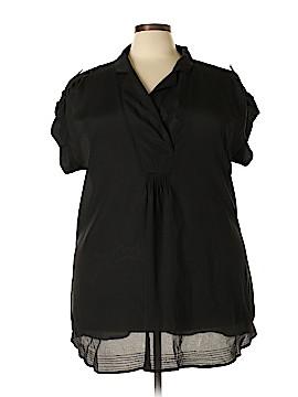 Daniel Rainn Short Sleeve Blouse Size 2X (Plus)