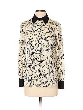 Catherine Malandrino for DesigNation Long Sleeve Button-Down Shirt Size XS