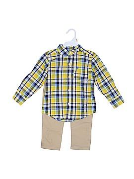 Carter's Long Sleeve Button-Down Shirt Size 2T