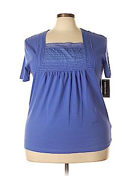 Bobbie Brooks Short Sleeve Top Size 2X (Plus)