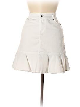 White House Black Market Denim Skirt Size 6