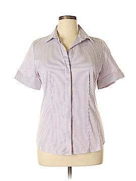 Ann Taylor Short Sleeve Button-Down Shirt Size 14