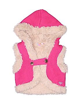 Roxy Faux Fur Vest Size 6