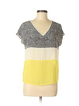 C. Luce Short Sleeve Blouse Size S