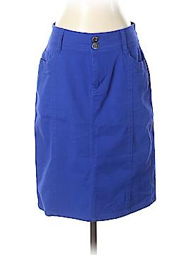 Roz & Ali Denim Skirt Size 4