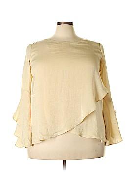 Thalia Sodi Long Sleeve Blouse Size XXL