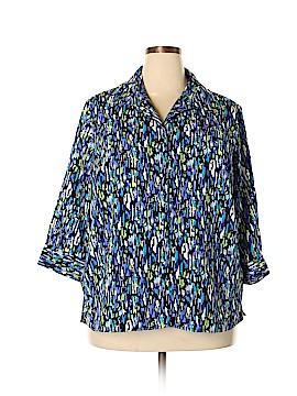 Walmart 3/4 Sleeve Blouse Size 3X (Plus)