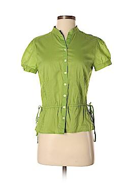 Banana Republic Factory Store Short Sleeve Button-Down Shirt Size S