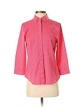 Talbots 3/4 Sleeve Button-Down Shirt Size 2