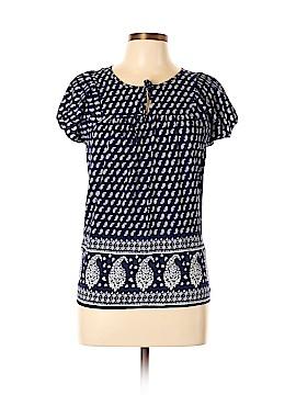 St. John's Bay Short Sleeve Blouse Size L