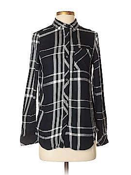 Workshop Long Sleeve Button-Down Shirt Size S
