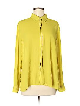 Premise Studio Long Sleeve Blouse Size M