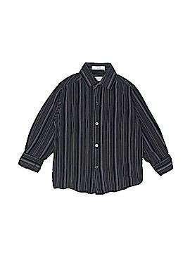 Calvin Klein Long Sleeve Button-Down Shirt Size 5
