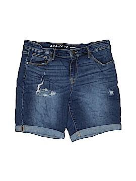Ava & Viv Denim Shorts Size 14