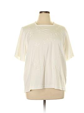 BonWorth Short Sleeve Blouse Size XL