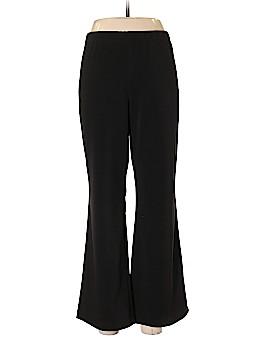 Susan Graver Casual Pants Size L (Petite)