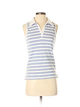 Carolyn Taylor Sleeveless Polo Size S