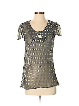 Fashion Spy Short Sleeve Blouse Size S