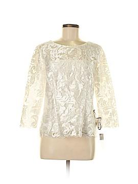 Alex Evenings 3/4 Sleeve Blouse Size S