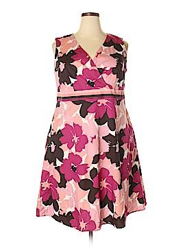 Croft & Barrow Casual Dress Size 1X (Plus)