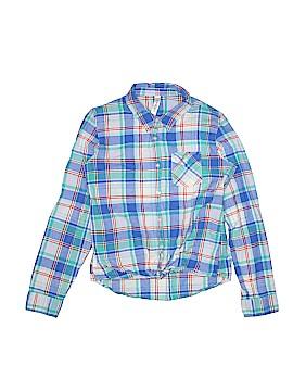 Cherokee Long Sleeve Button-Down Shirt Size 14 - 16