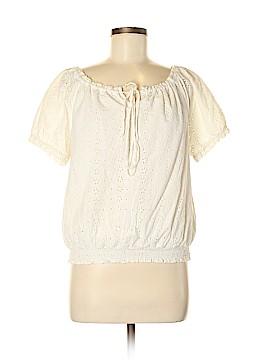 Chaps Short Sleeve Blouse Size XL (Petite)